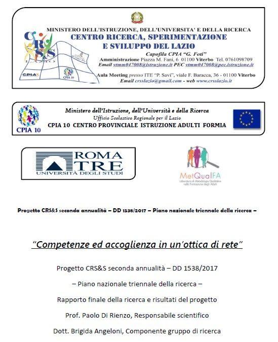 Report Finale CPIA Formia