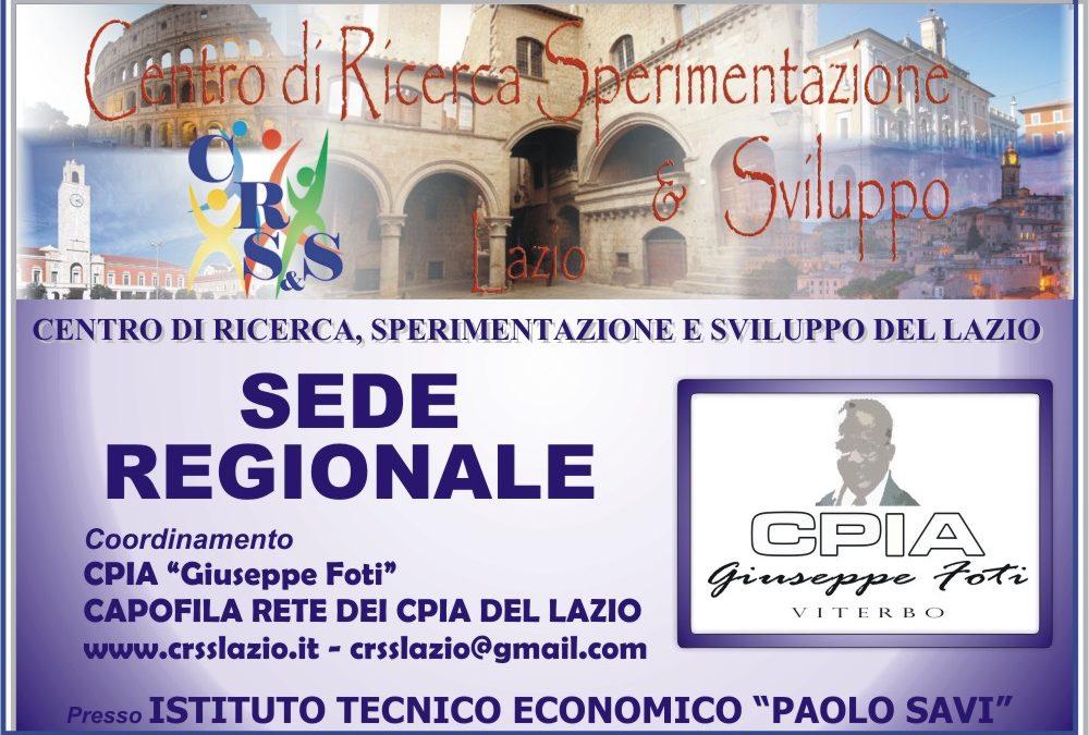 CRS&S LAZIO – SEDE REGIONALE